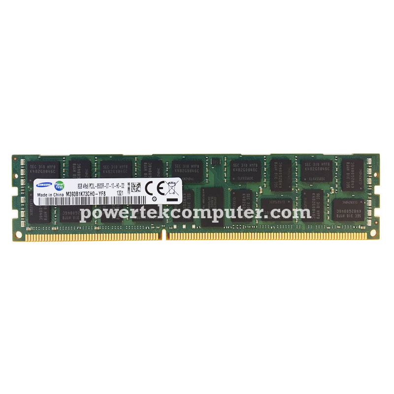 SAMSUNG DDR3L ECC REGISTER 8GB 4RX8 PC3L-8500R